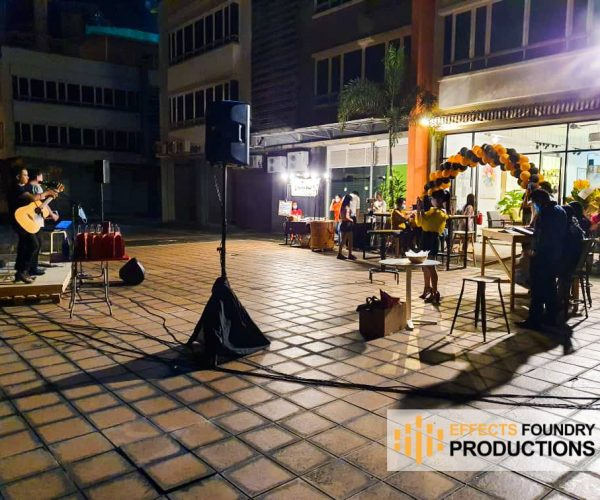 In House Coffee Roastery music night 3 Oct 2020