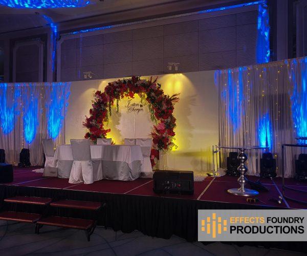 Wedding R.O.M , luncheon ceremony 8 Mar 2020